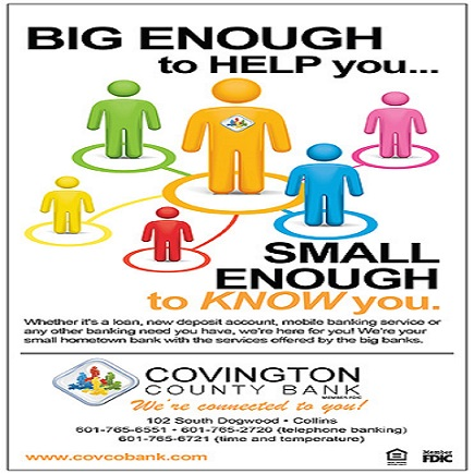 Big enough to help you… Small Enough to know you.